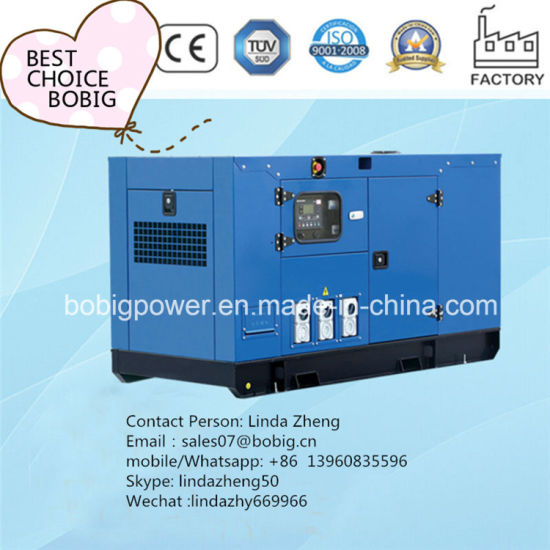Standby 500kw Soundproof Canopy Open Power Generator