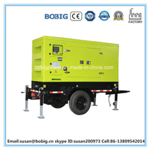 Silent Type Diesel Generator Set with Trolley (10KW/12.5kVA)