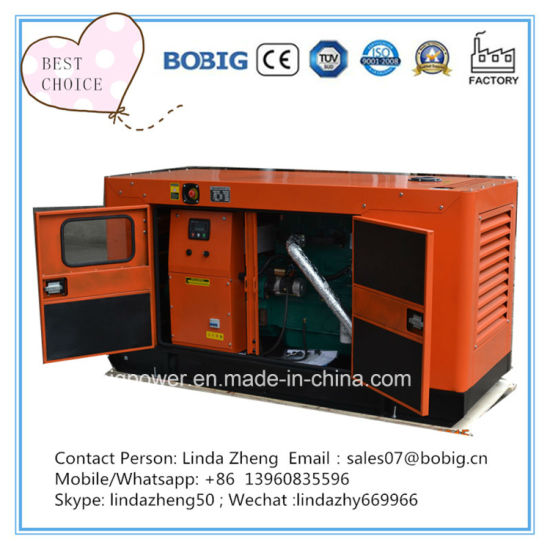 10kw Silent Canopy Open Diesel Generator with Yangdong Engine Y385g
