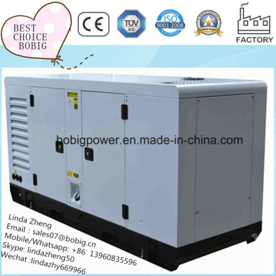 24kw 30kVA Electric Generator Soundproof Silent with Perkins 1103A-33G