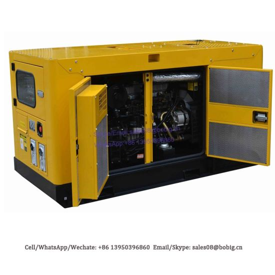 8kw to 1500kw Standby Power Diesel Electric Generators Silent
